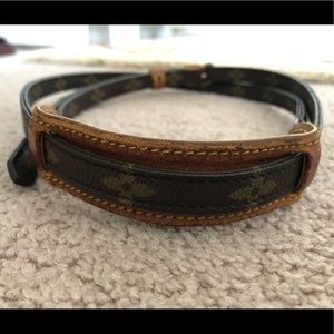 Louis Vuitton monogram strap
